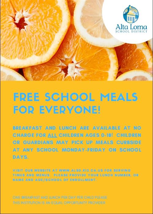 Free School Meals For Everyone!