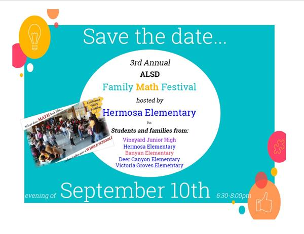 Annual Math Festival Brings Families Together for Events on Sept. 10 and 24